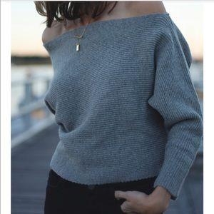 J.O.A. Ribbed sweater